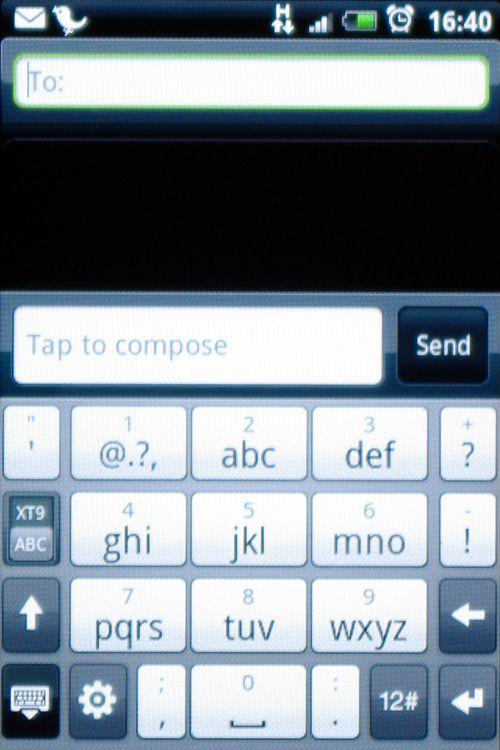Nummertastaturet fungerer bra, men æ, ø og å er for langt bak i systemet.