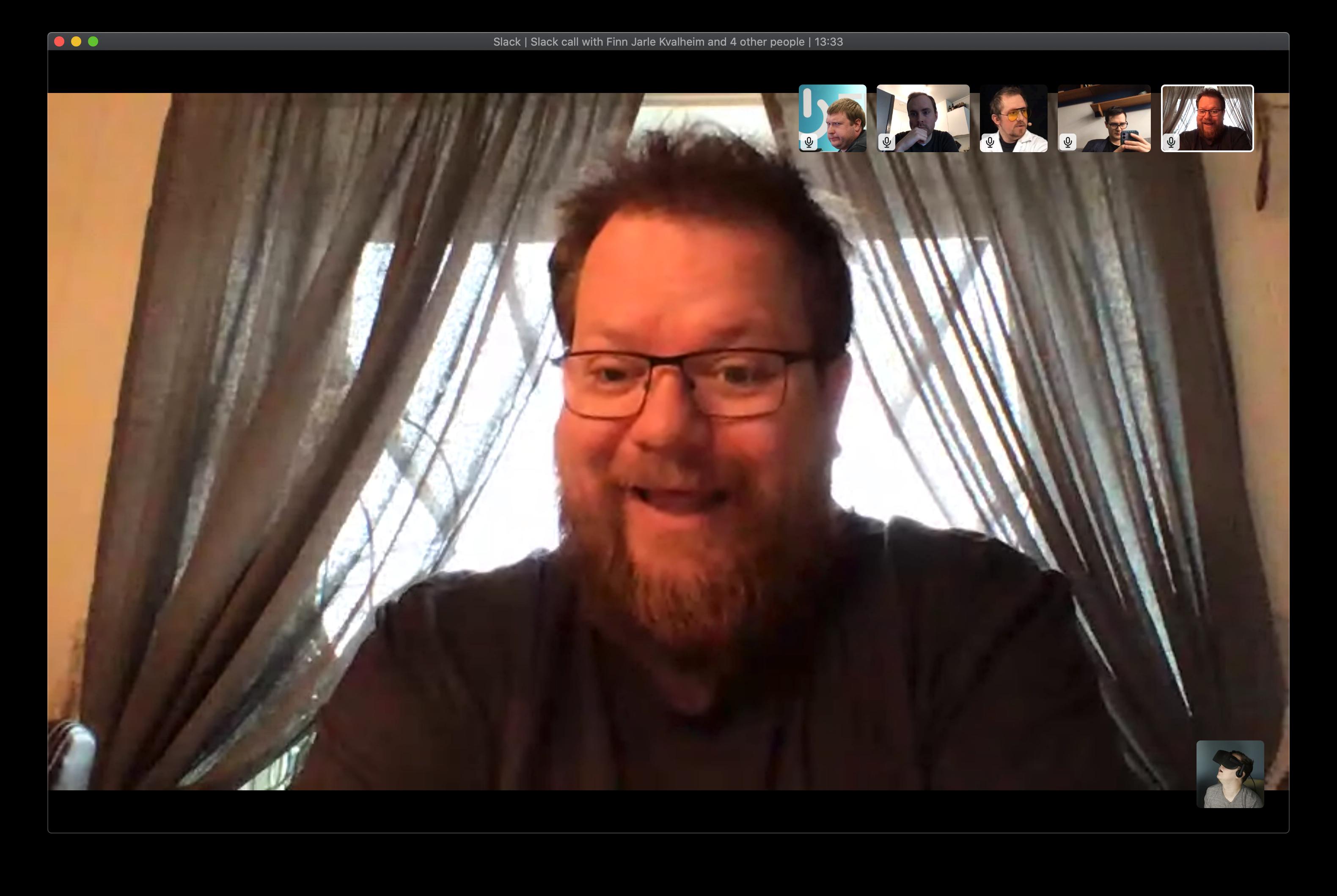 Slack har en kjempegod videokonferansefunksjon, men krever et abonnement og kan maksimalt brukes av 15 personer samtidig.