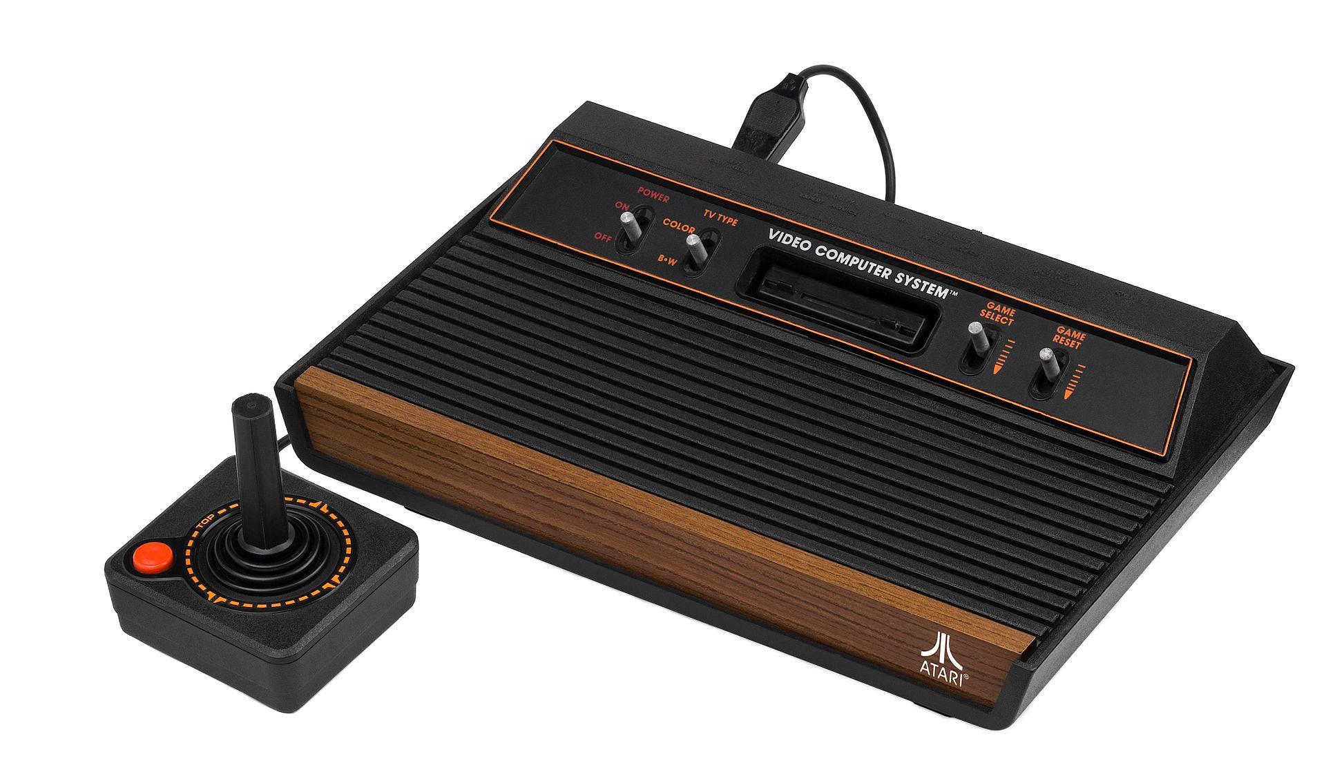 En vanlig variant av Atari 2600..