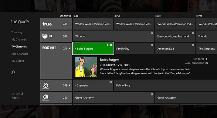 Xbox One skal gi deg full kontroll over TV-hverdagen. Foto: Microsoft