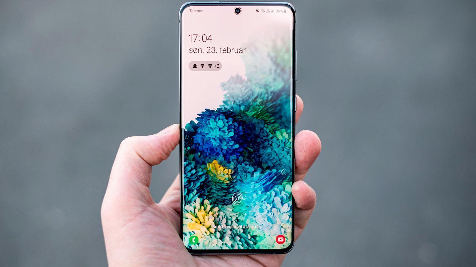 Har du denne Samsung-telefonen og er Telia-kunde, kan du denne uken få raskere nett.