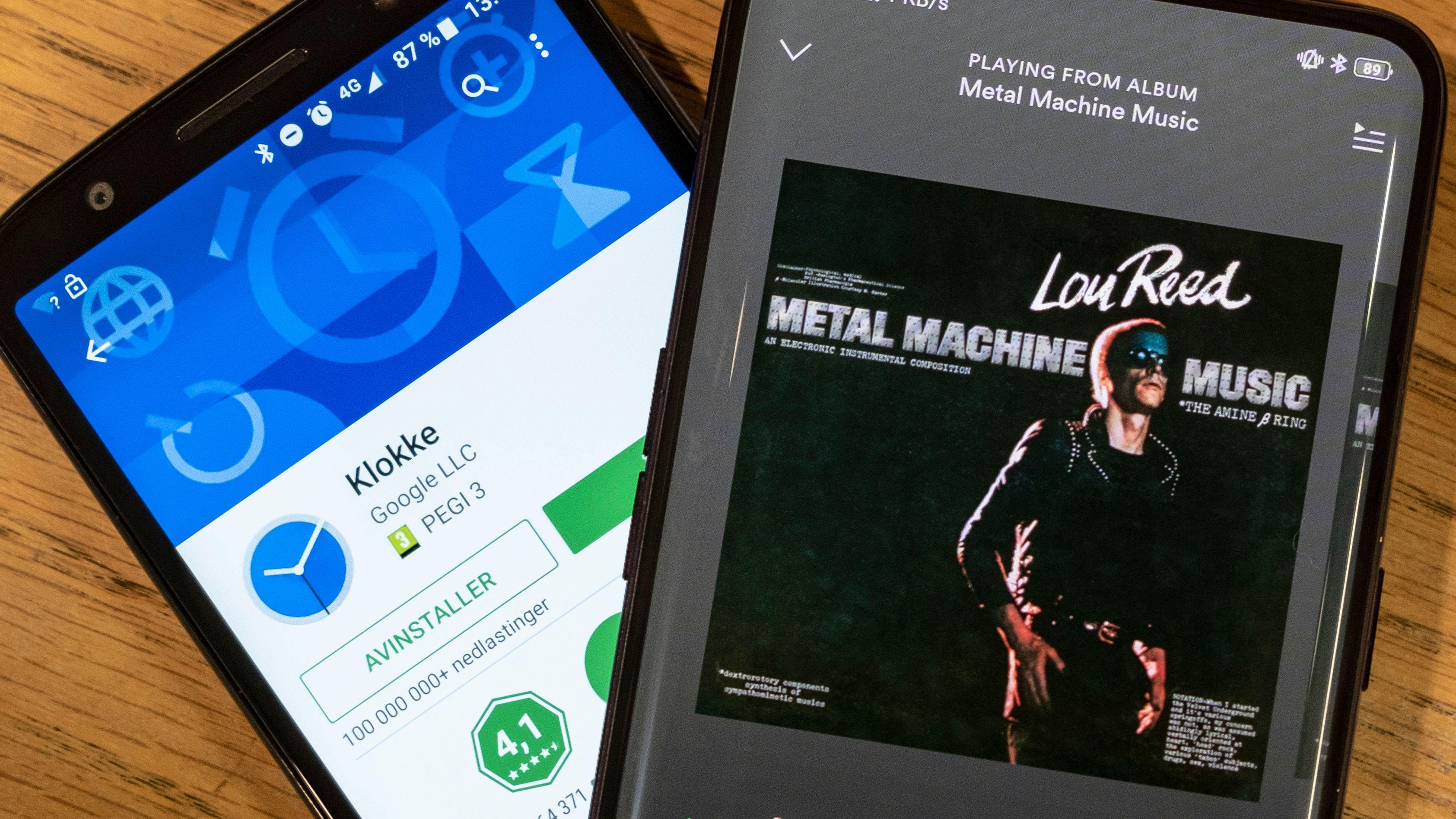 Nå kan du velge Spotify-musikk som alarm