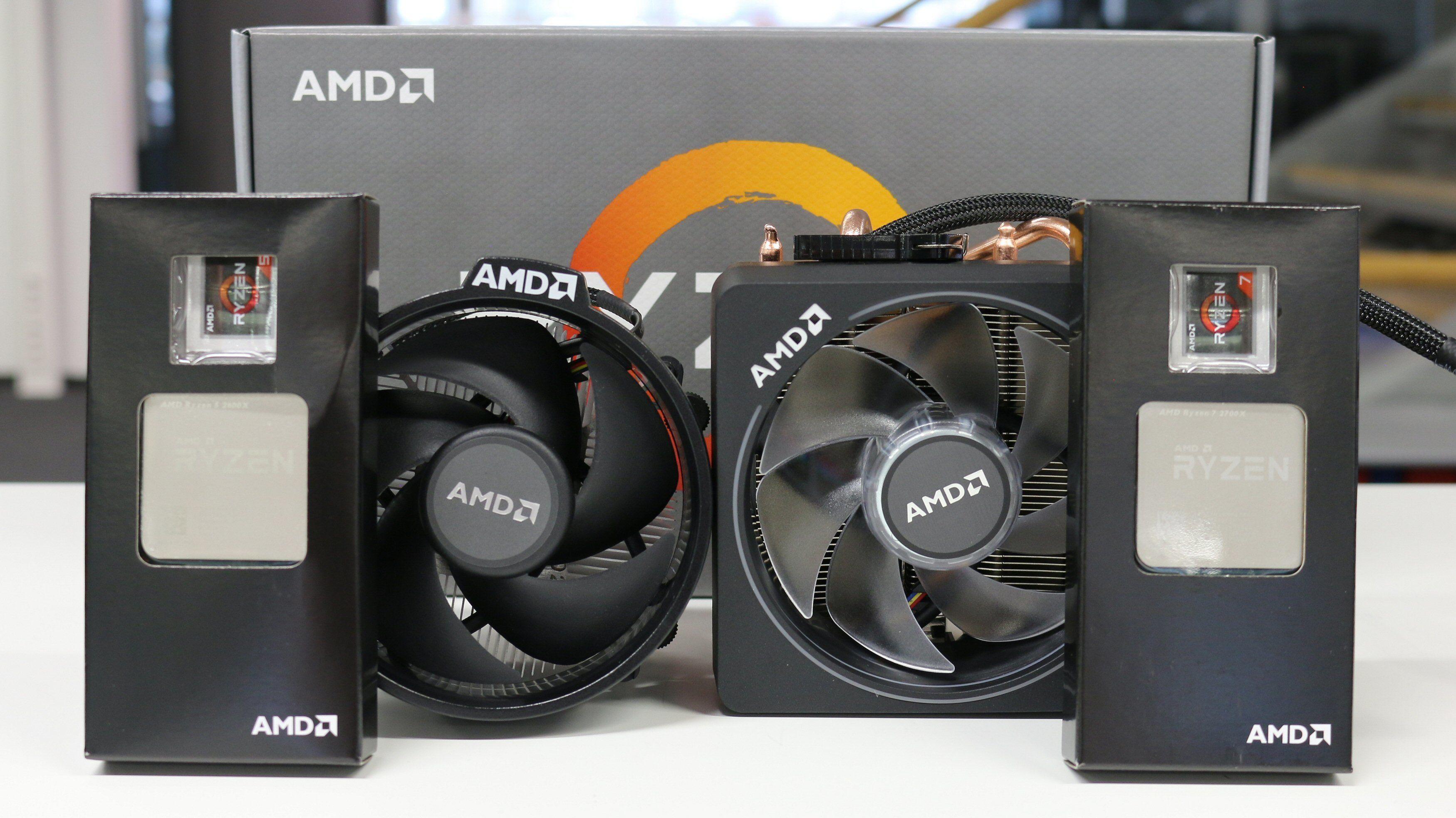 AMD Ryzen 7 2700X og Ryzen 5 2600X