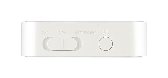 Bryteren til venstre brukes for å skru av eller på ruteren, eller velge mobillader-modus.Foto: D-Link