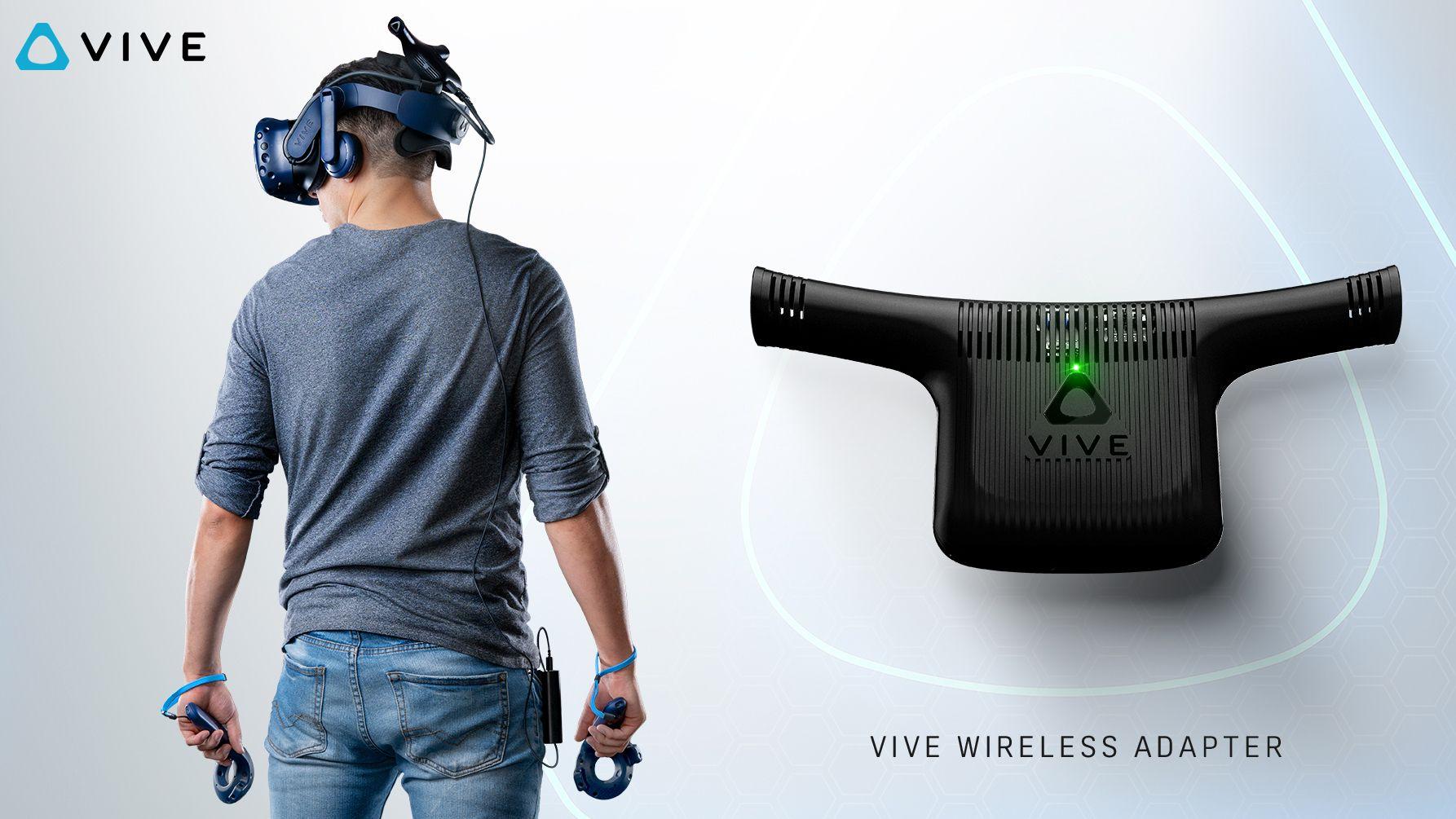 Nå vet vi hva trådløs-adapteren til HTC Vive vil koste