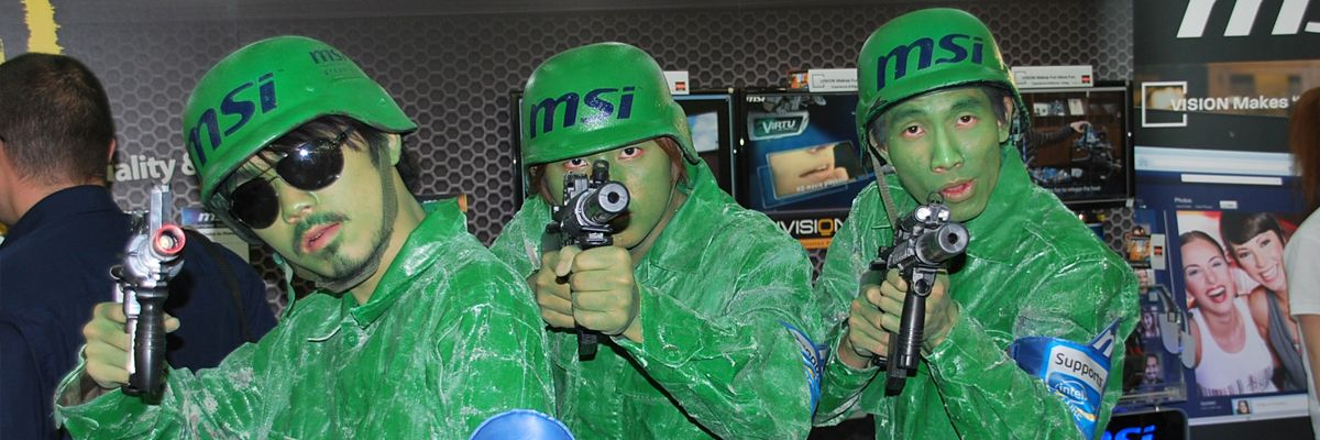 MSI lanserer produkter som følger militær standard