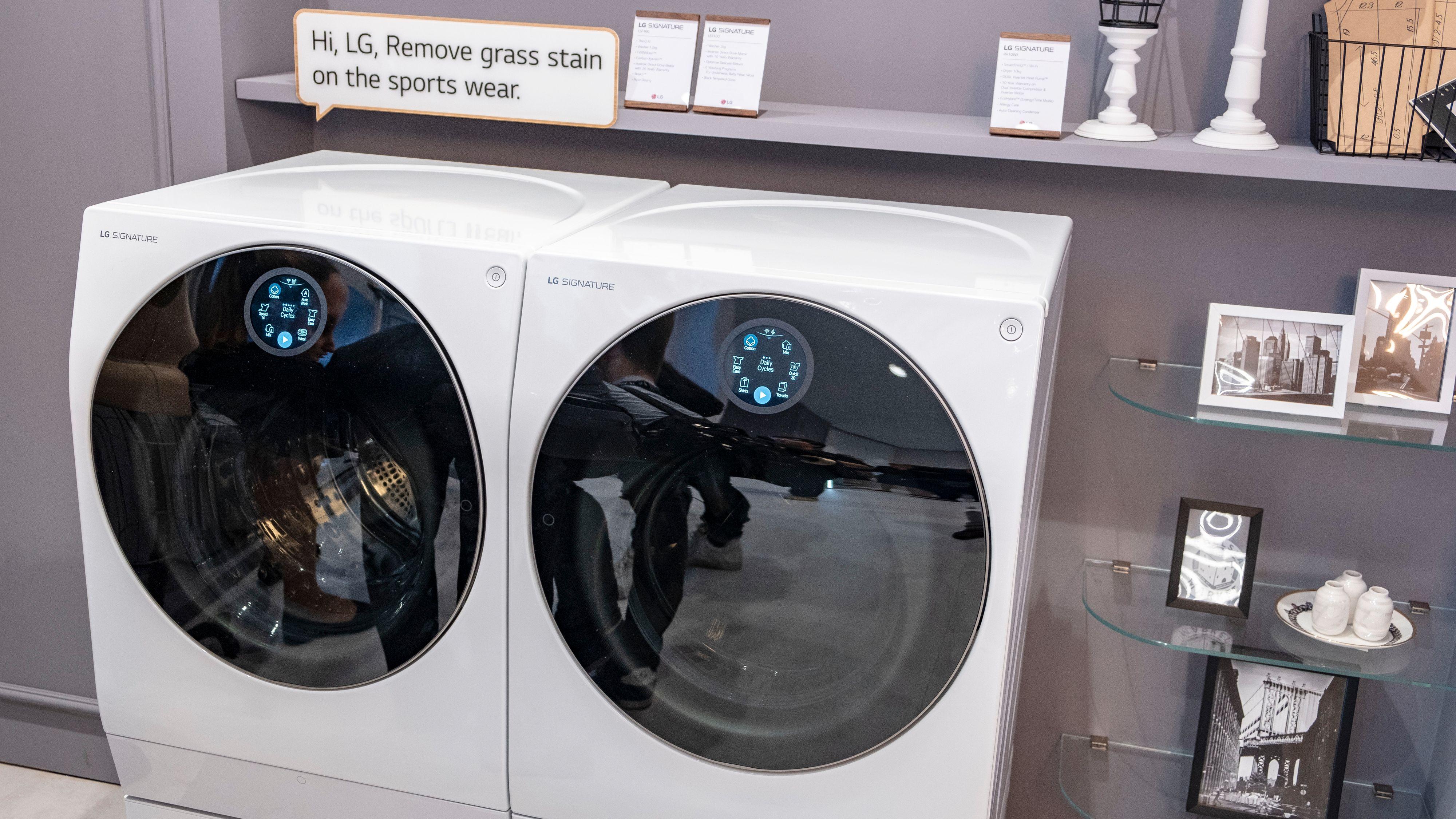 LG Signature vask og tørk