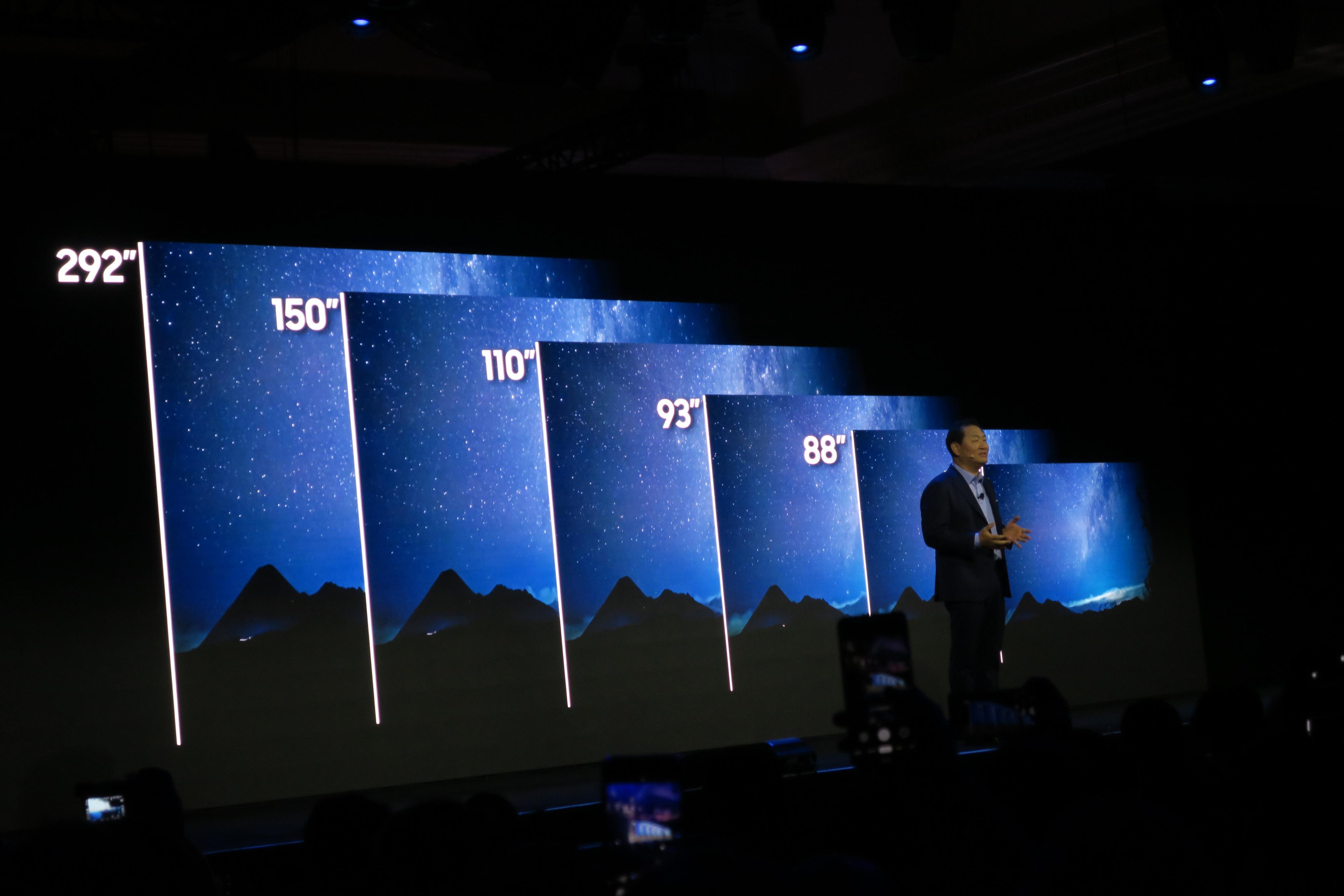 Samsung med seks ulike Mikro-LED-TV-er
