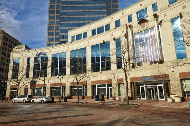 Anthems hovedkvarter i Indianapolis. Foto: Anthem