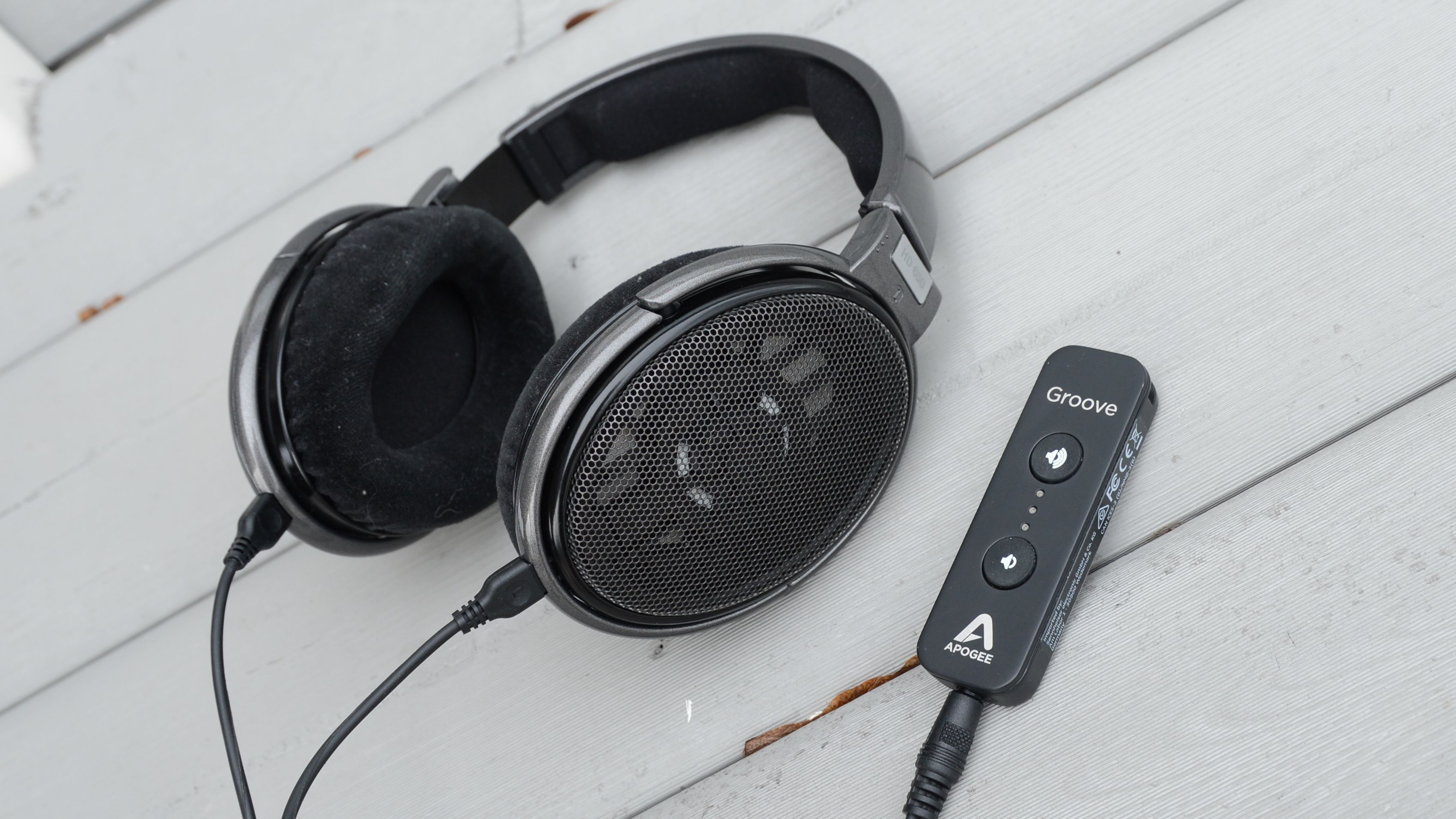 Sennheiser HD650 og Apogee Groove