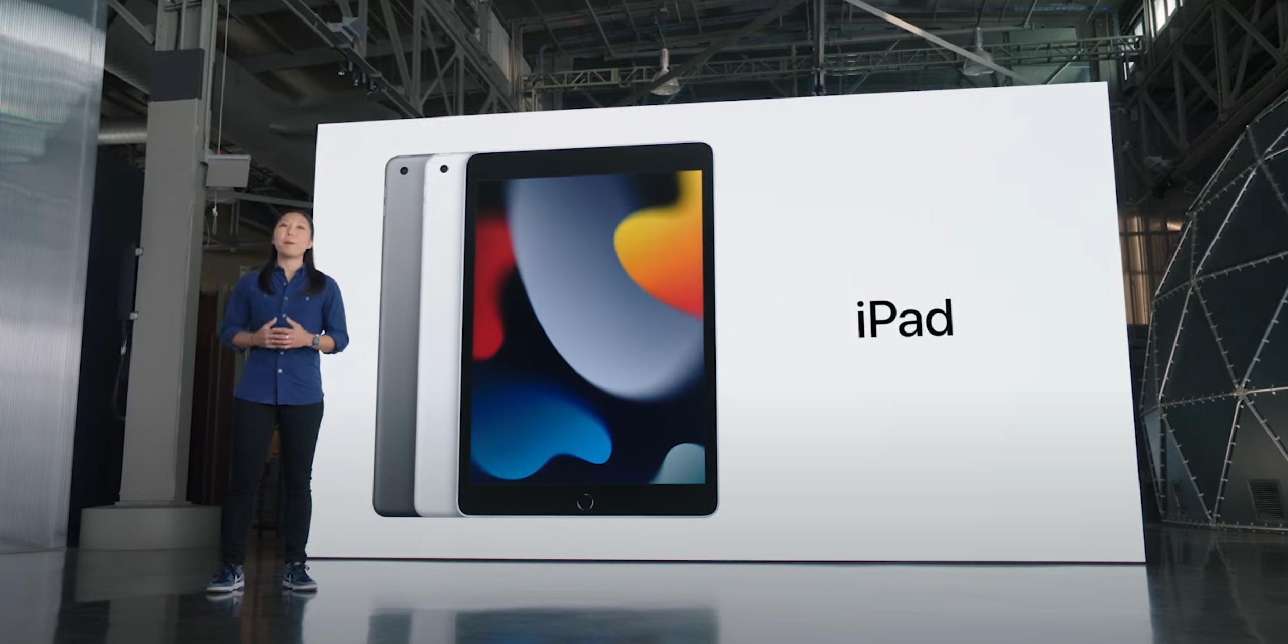 Nye «vanlige» iPad, den billigste i Apples sortiment.