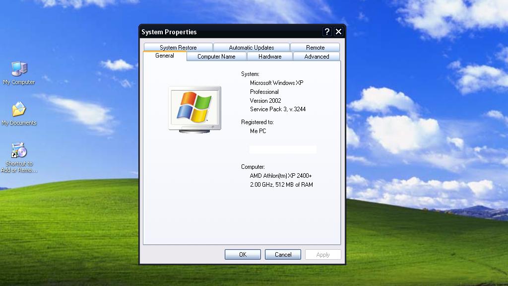 Oppdatering av XP utsettes