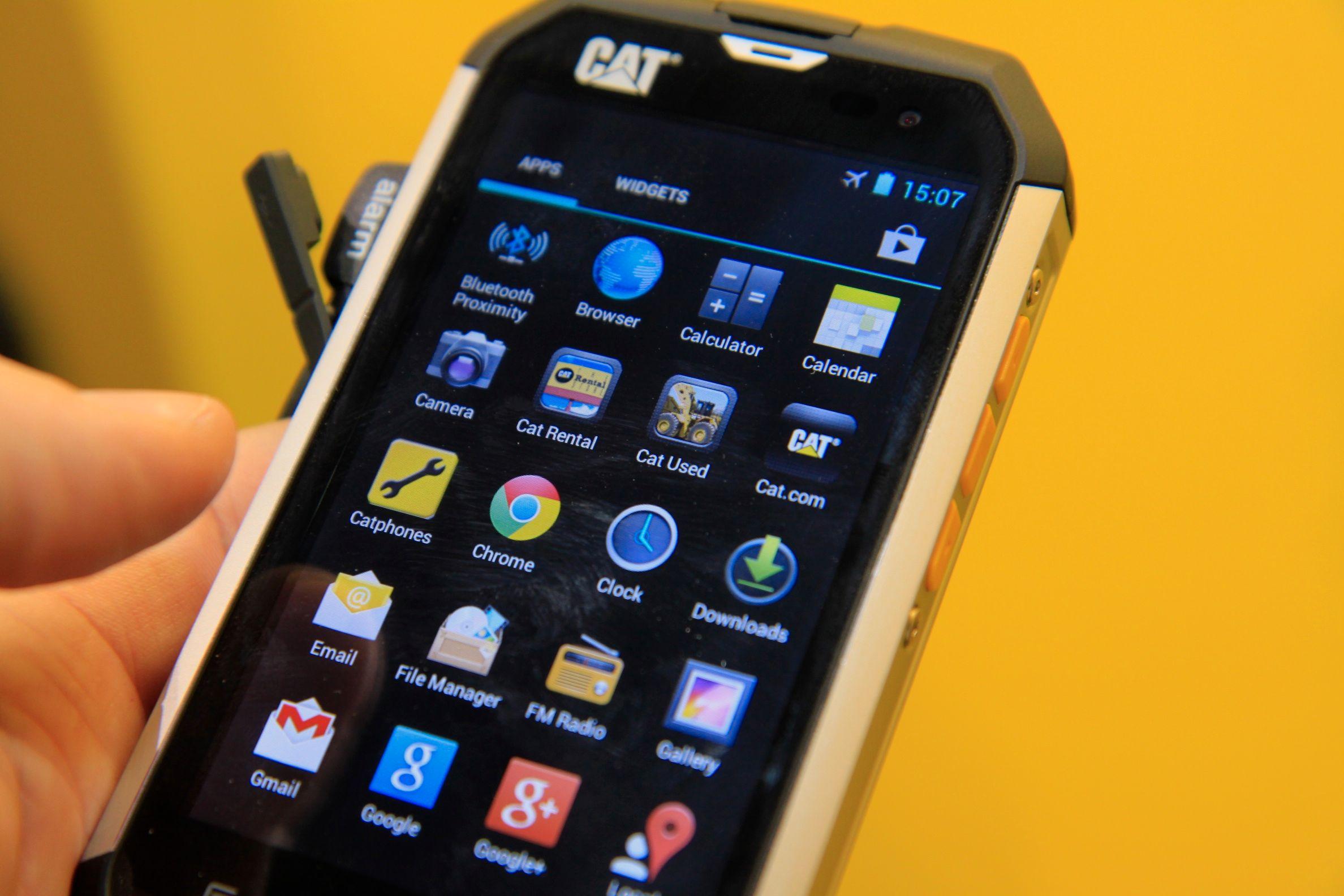 Operativsystemet er Android 4.1 Jelly Bean.Foto: Kurt Lekanger, Amobil.no