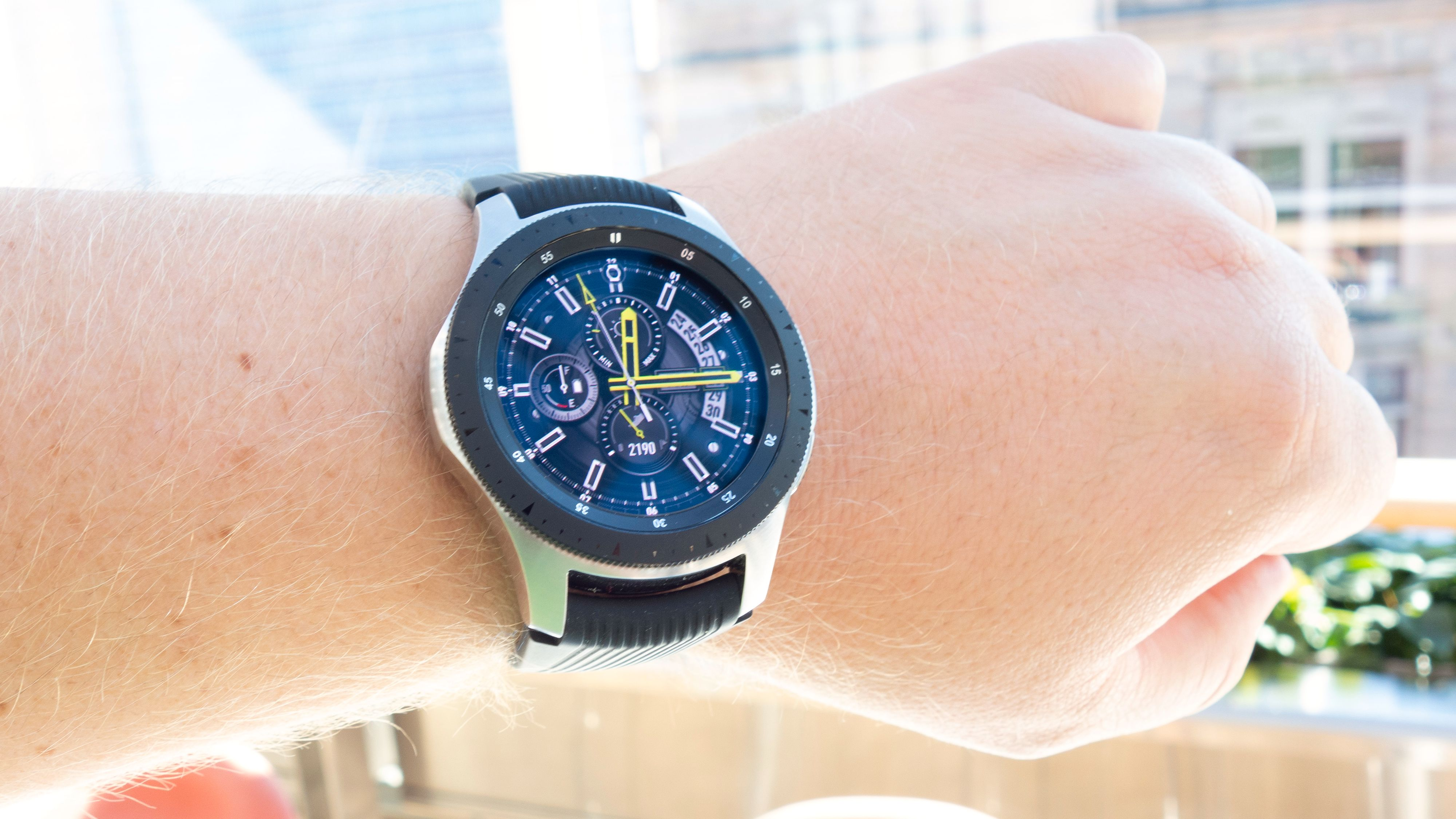 Test av Samsung Galaxy Watch Samsungs smartklokke kan mye