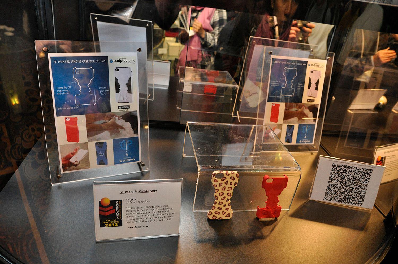 3D-printing snakkes det mye om for tiden. Disse mobildekslene her er laget av en 3D-printer.