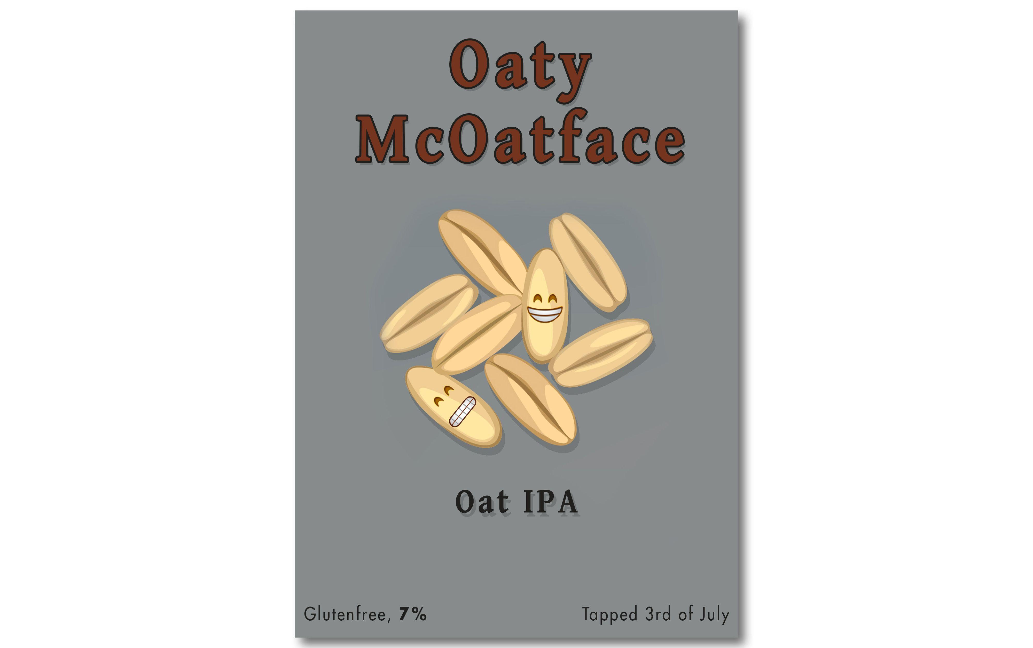 Ølen ble til slutt hetende Oaty McOatface.