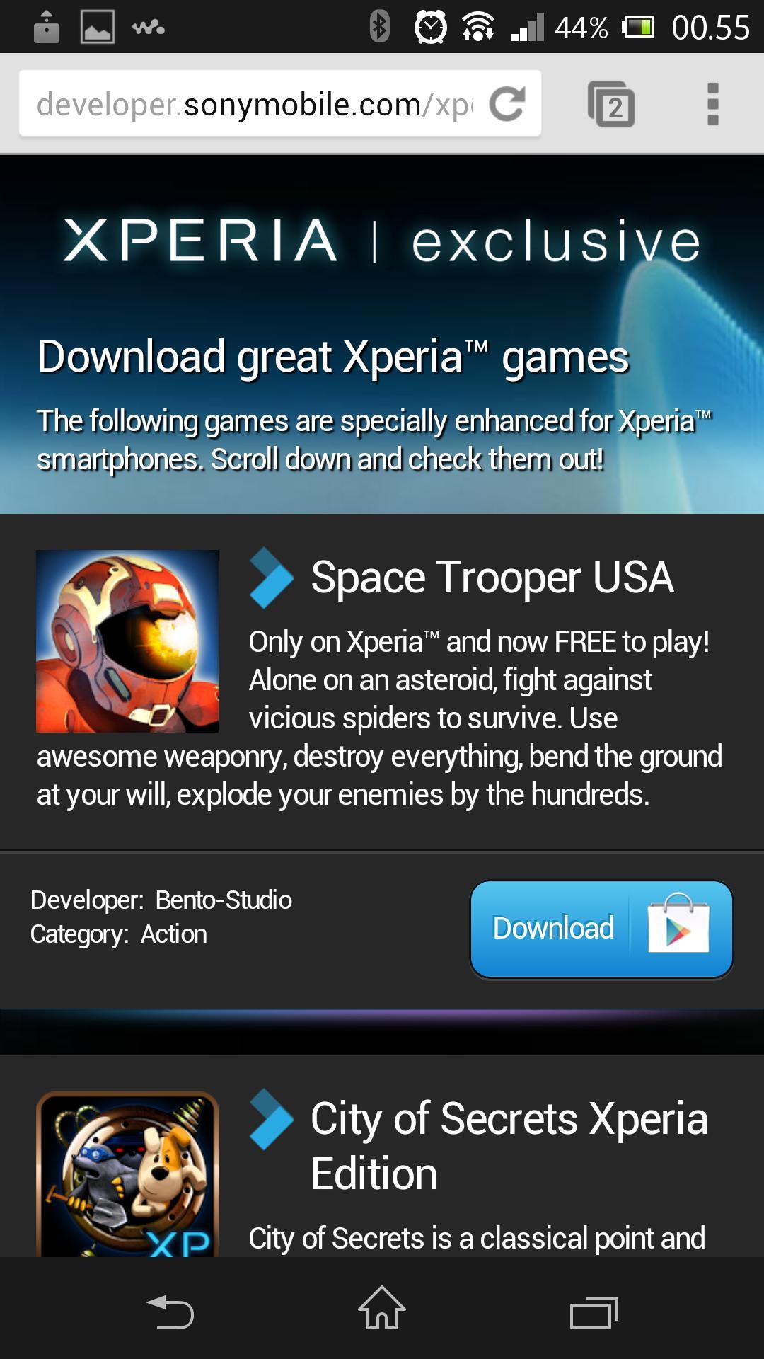 Sony tilbyr gratis spill, hvis du er opptatt av denslags.Foto: Finn Jarle Kvalheim, Amobil.no