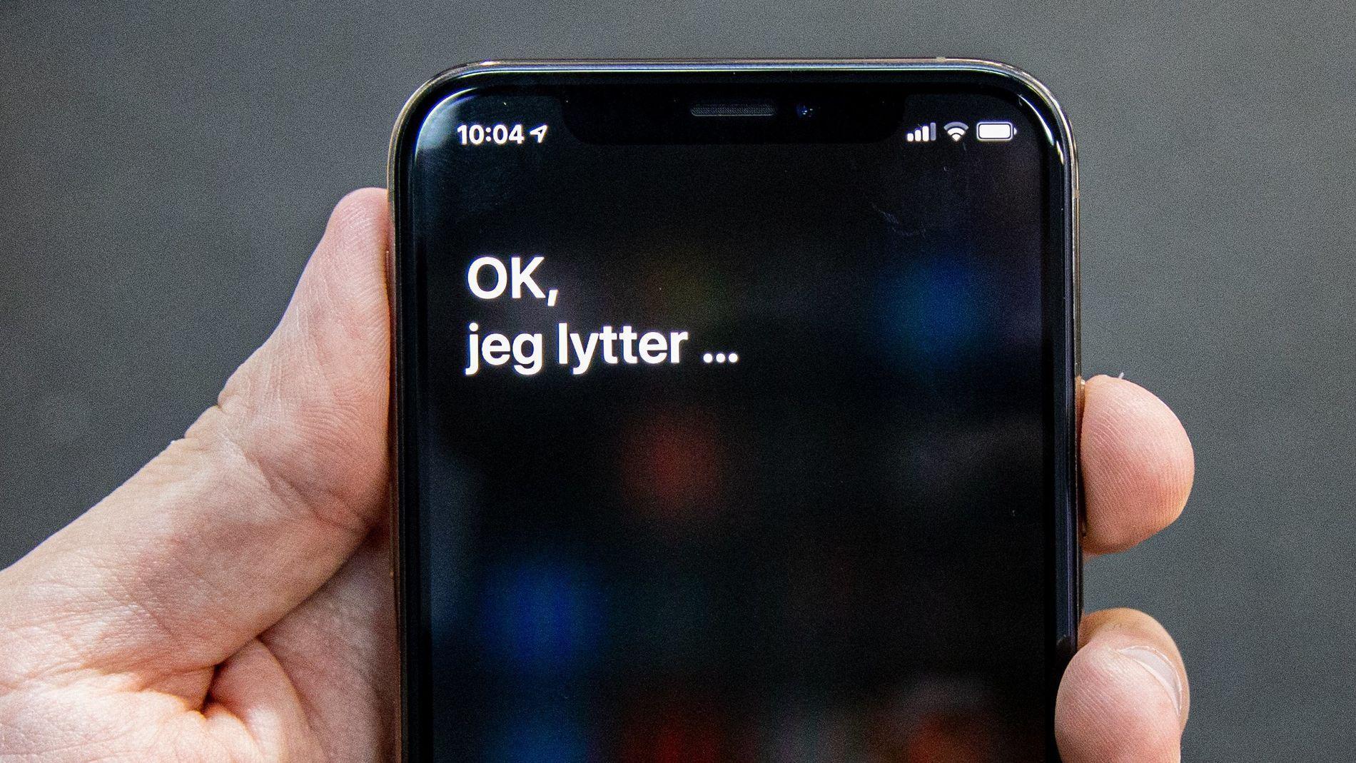 Nå gir Siri coronaråd til amerikanerne