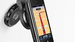 Tomtom slipper bilholder for Iphone