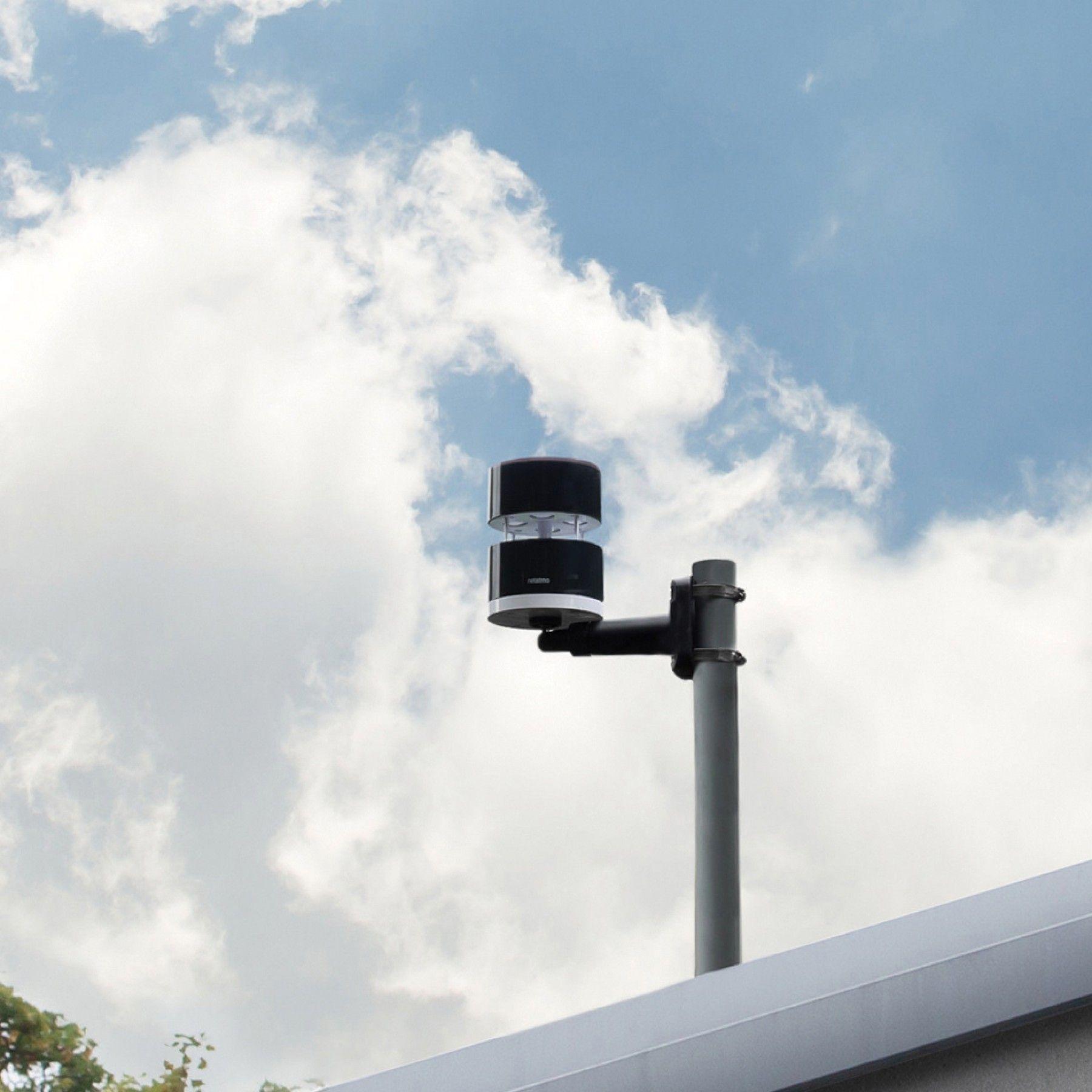 Har du ikke vindmåleren ti meter over bakken? Da kan du ta høyde for dette i appen.