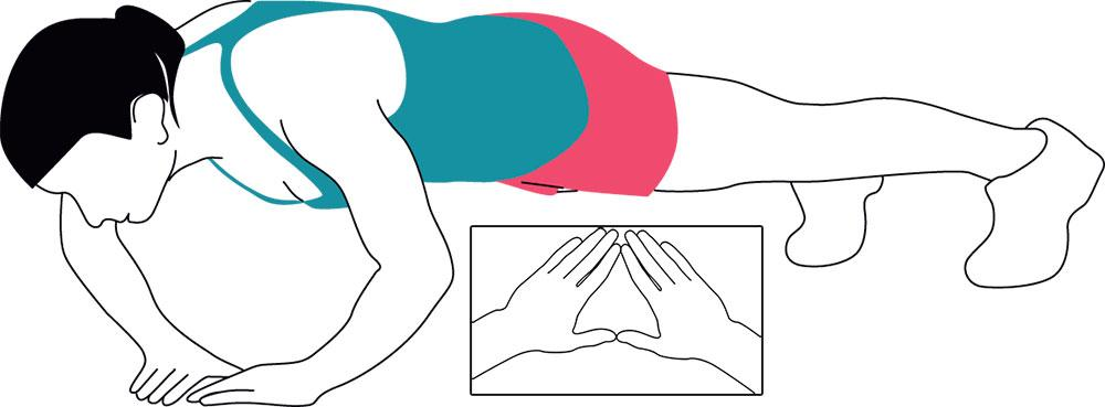 Triangelarmhävning