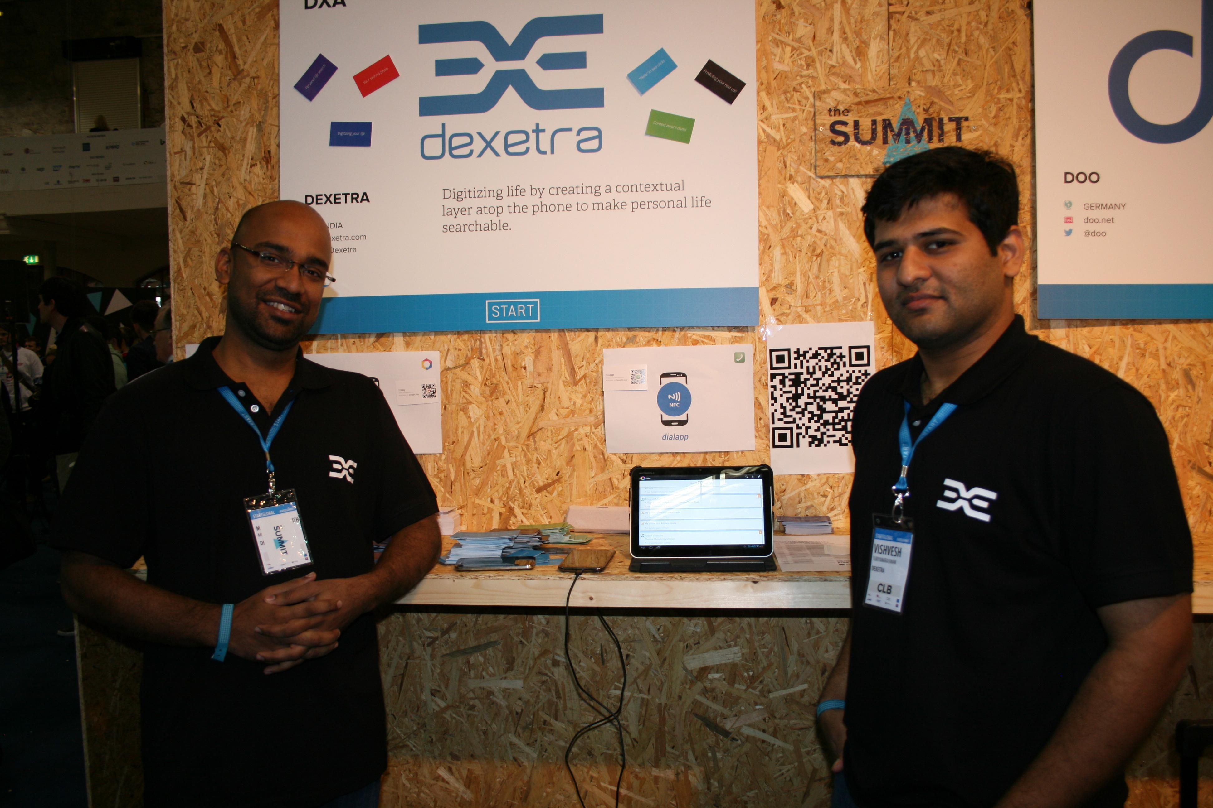 Nettskyutvikler Vishvesh Suriyanarayanan og kollega Binil Antony.