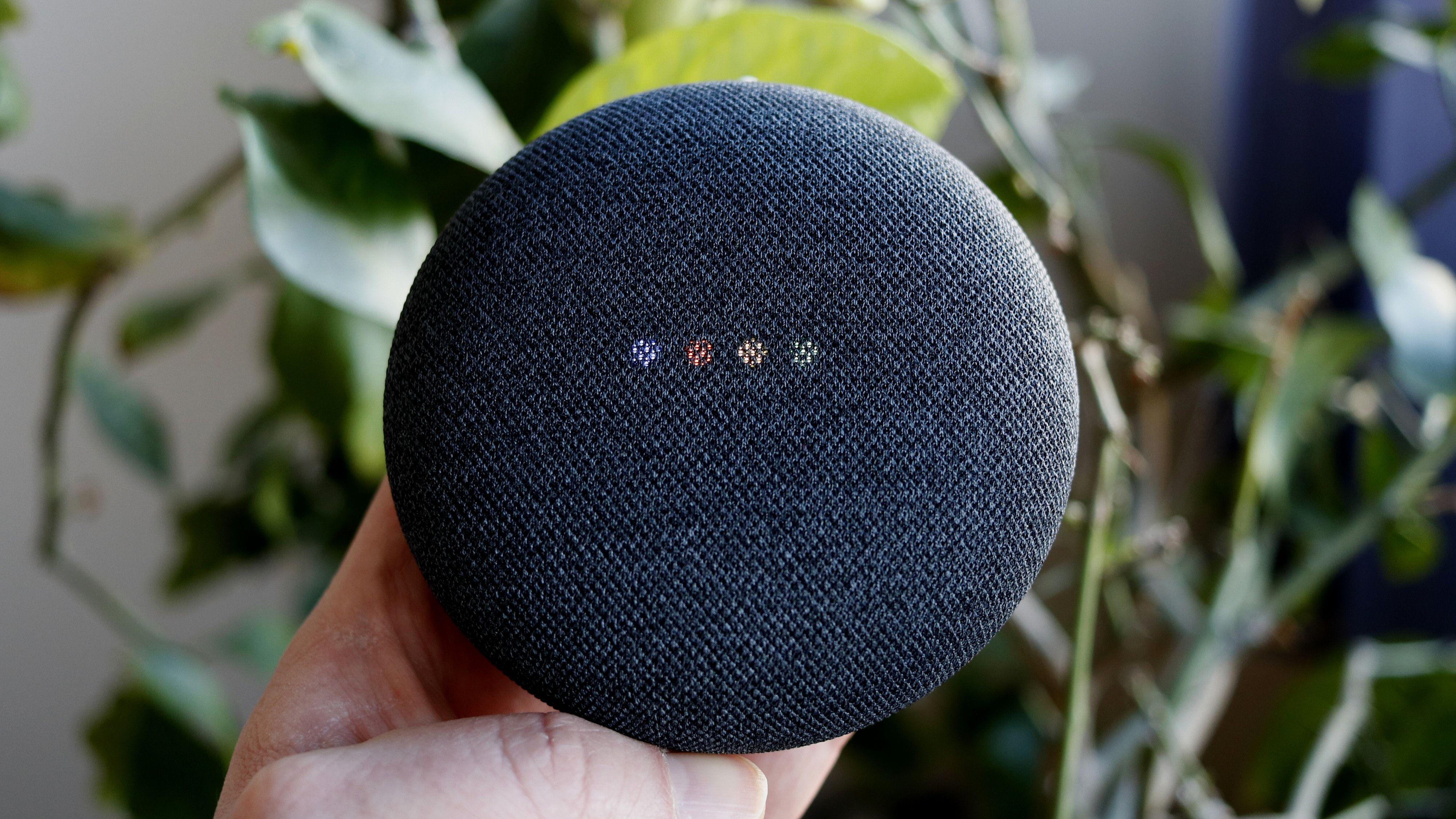 Google Nest Mini er ikke store høyttaleren.