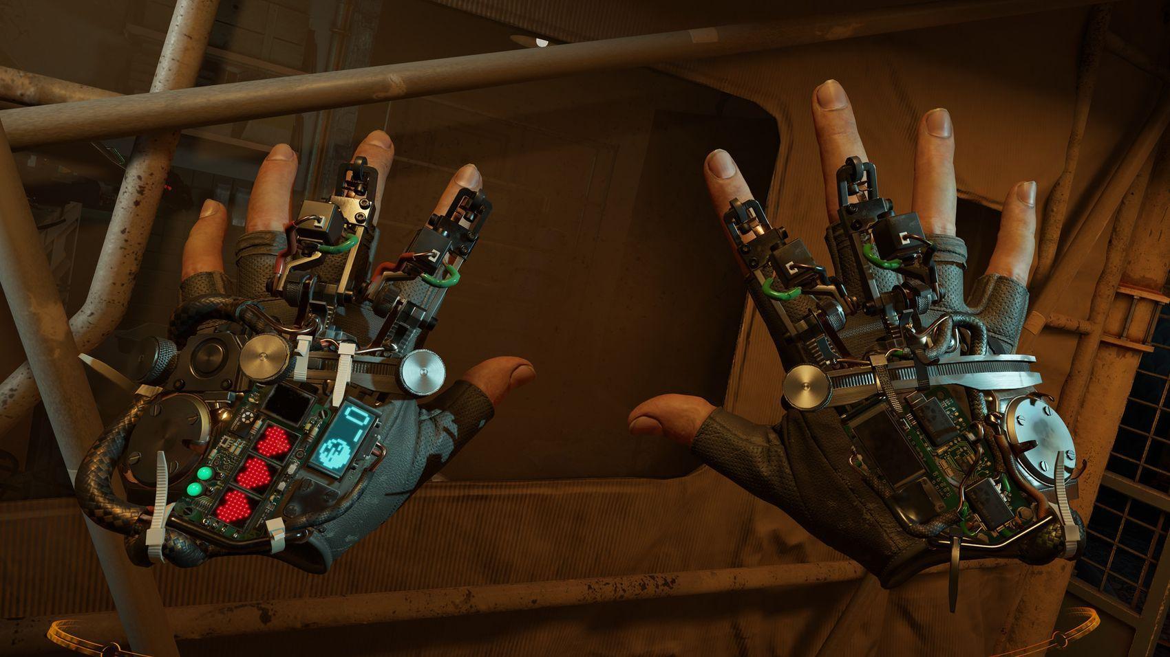 Half-Life: Alyx er et rent VR-spill med innovative, fysikkbaserte kontrollsystemer.