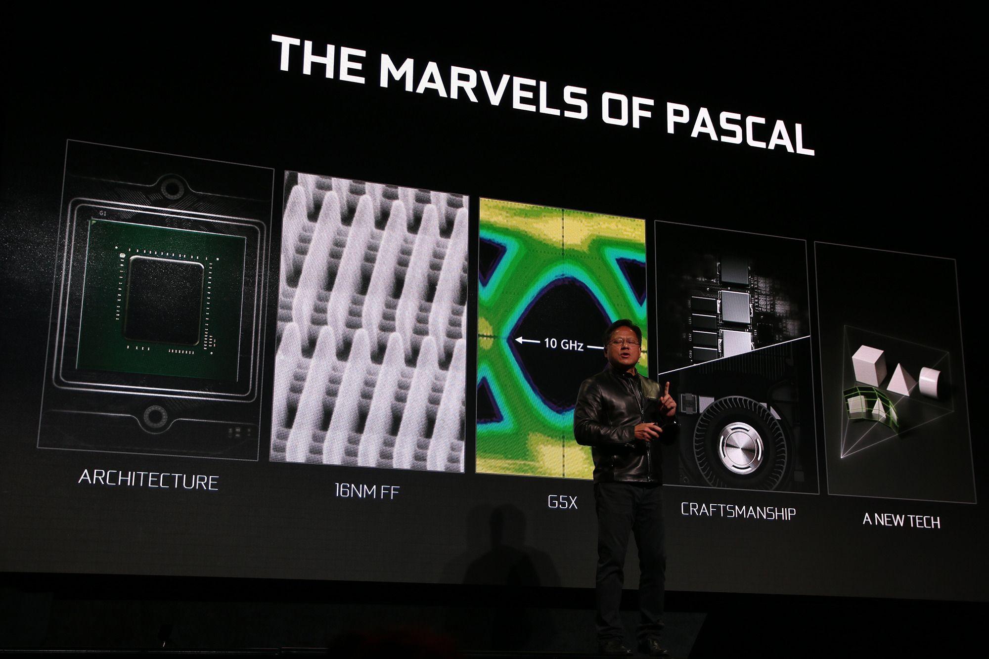 Noen av egenskapene til Pascal-baserte GTX 1080.