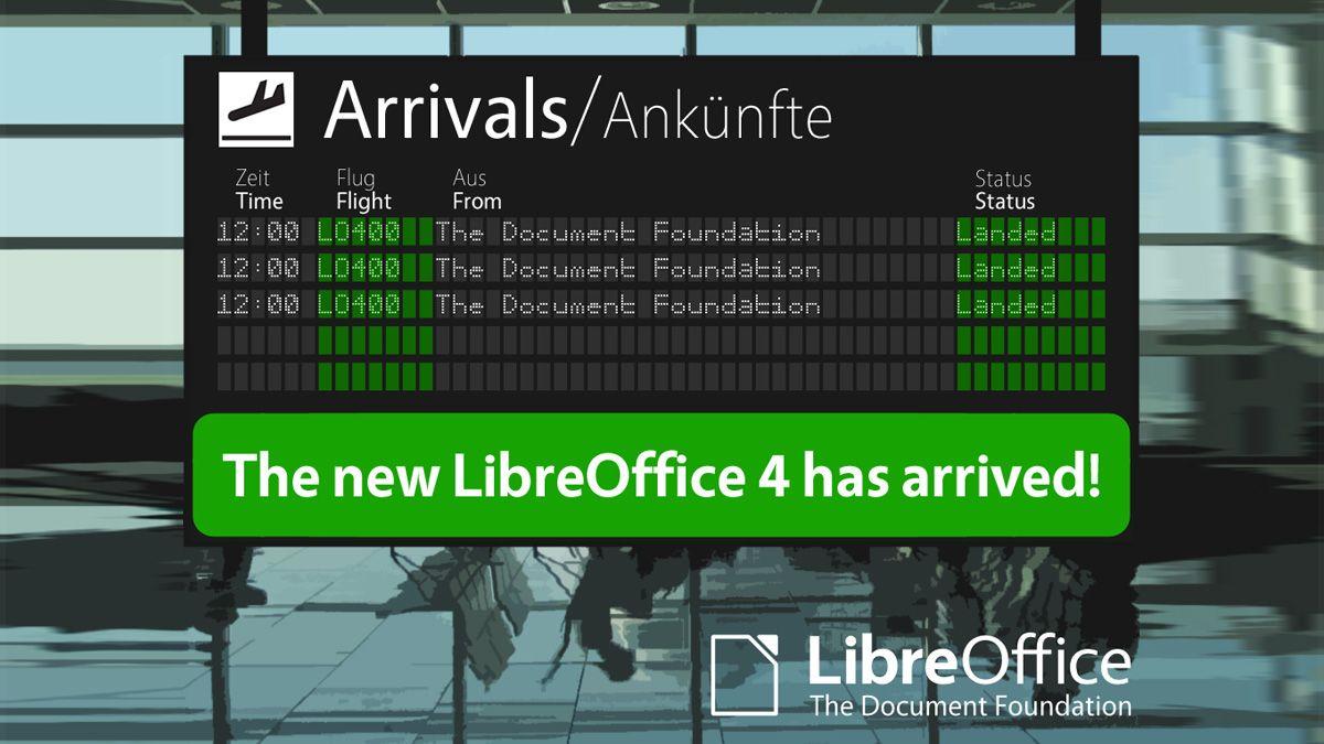 Nå er LibreOffice her i ny versjon