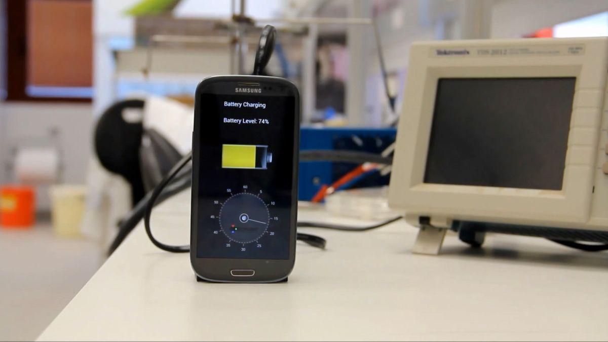 Snart kan det komme mobiler som kan lades på bare fem minutter