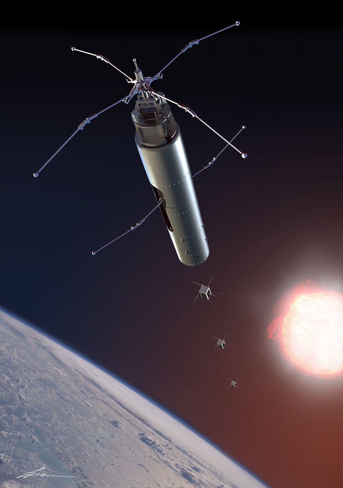 Neste generasjons forskningsrakett fra UiO skal undersøke jordens ionosfære.