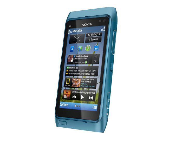 Prisbelønte Nokia N8 kjører Symbian^3. Til tross for at Symbian er svært utbredt, virker fremtiden noe usikker.