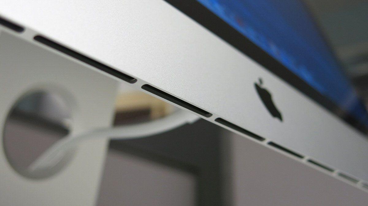 Ventilasjonen under maskinens skjerm. Her går det rolig for seg.Foto: Vegar Jansen, Hardware.no
