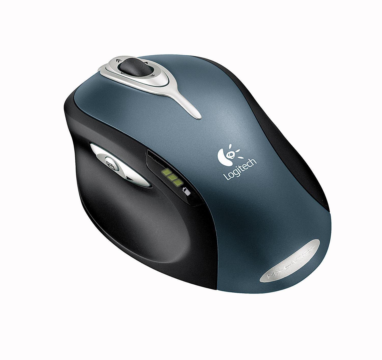 Logitech MX 1000 var den første kommersielle lasermusa.Foto: Logitech