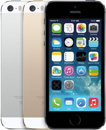 Slik ser dagens iPhone 5S ut. Det ser ut til at neste generasjon vil markere overgangen til en drastisk fornyet designfilosofi.Foto: Apple