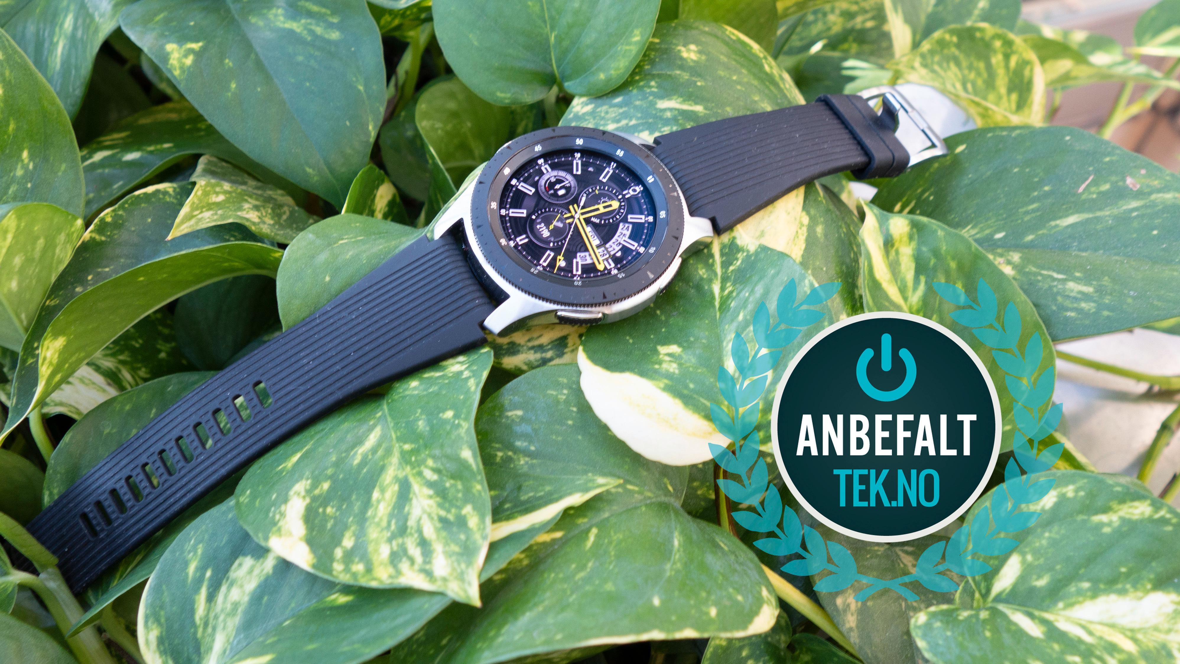 Samsung Galaxy Watch kan vi trygt anbefale deg