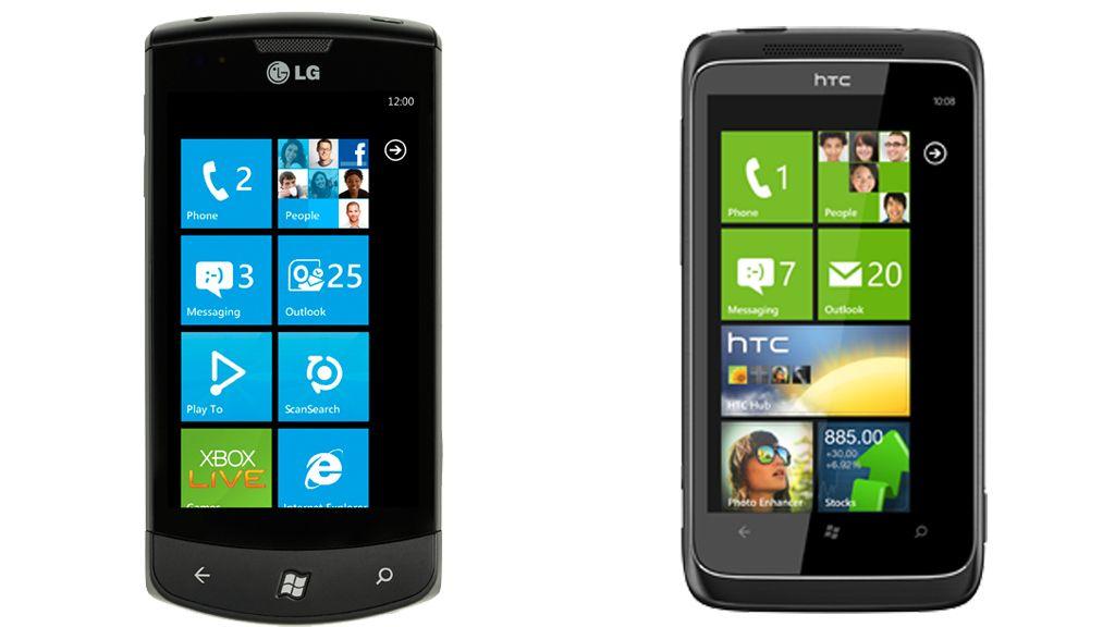 LG Optimus One vs HTC 7 Trophy