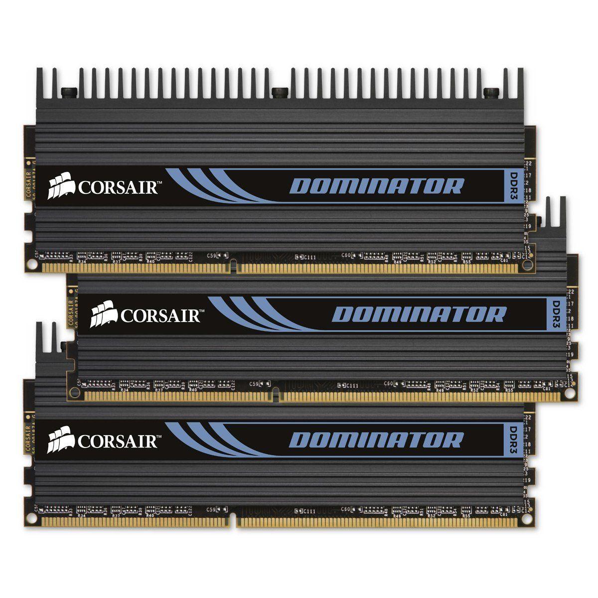 Corsair Dominator RAM-moduler.