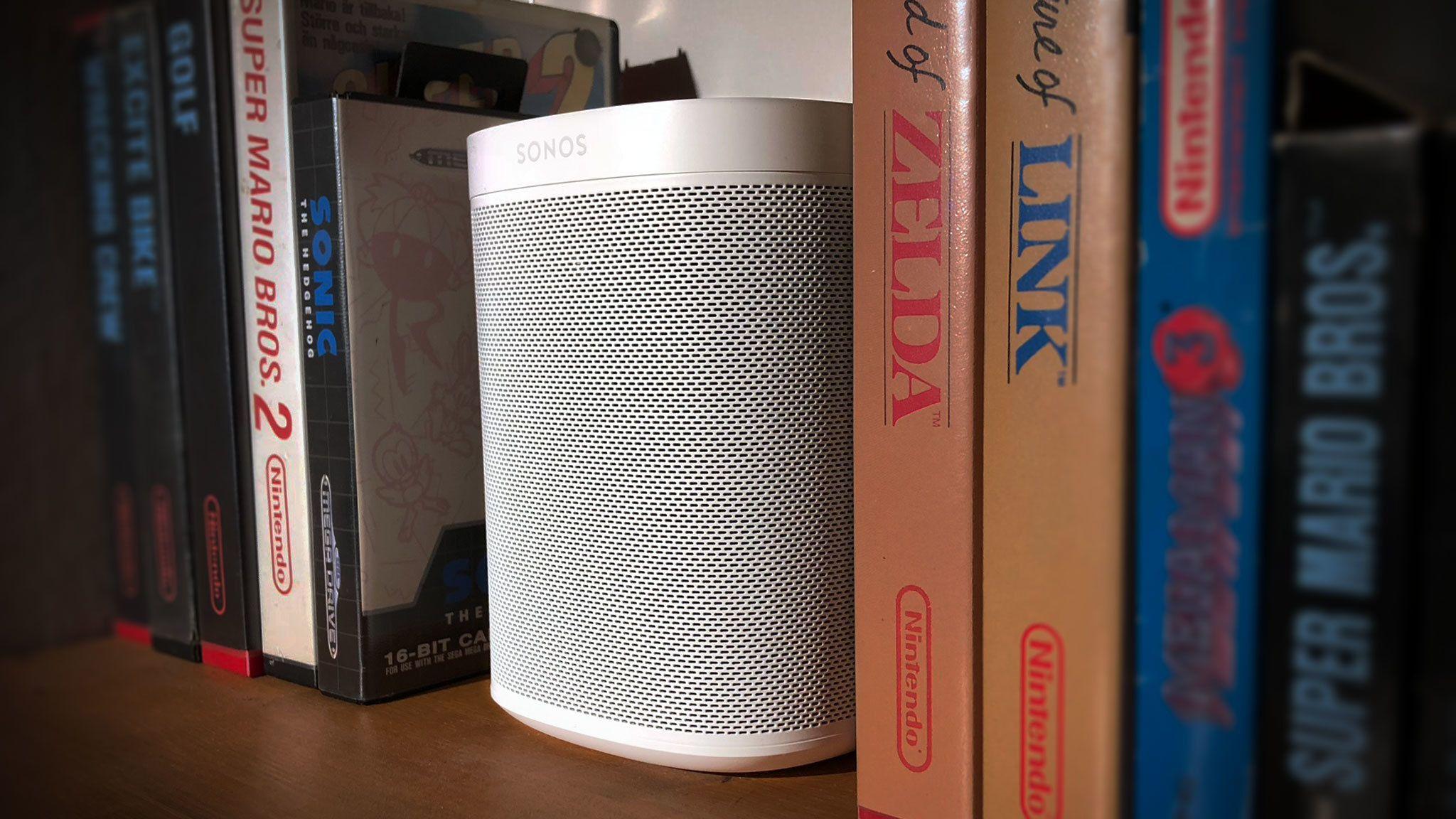 Sonos One har også Airplay 2-støtte. Bilde: Niklas Plikk, Tek.no