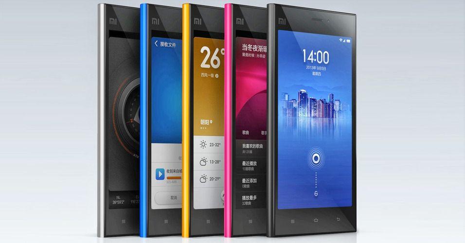 Apple, Samsung ... og Xiaomi?!