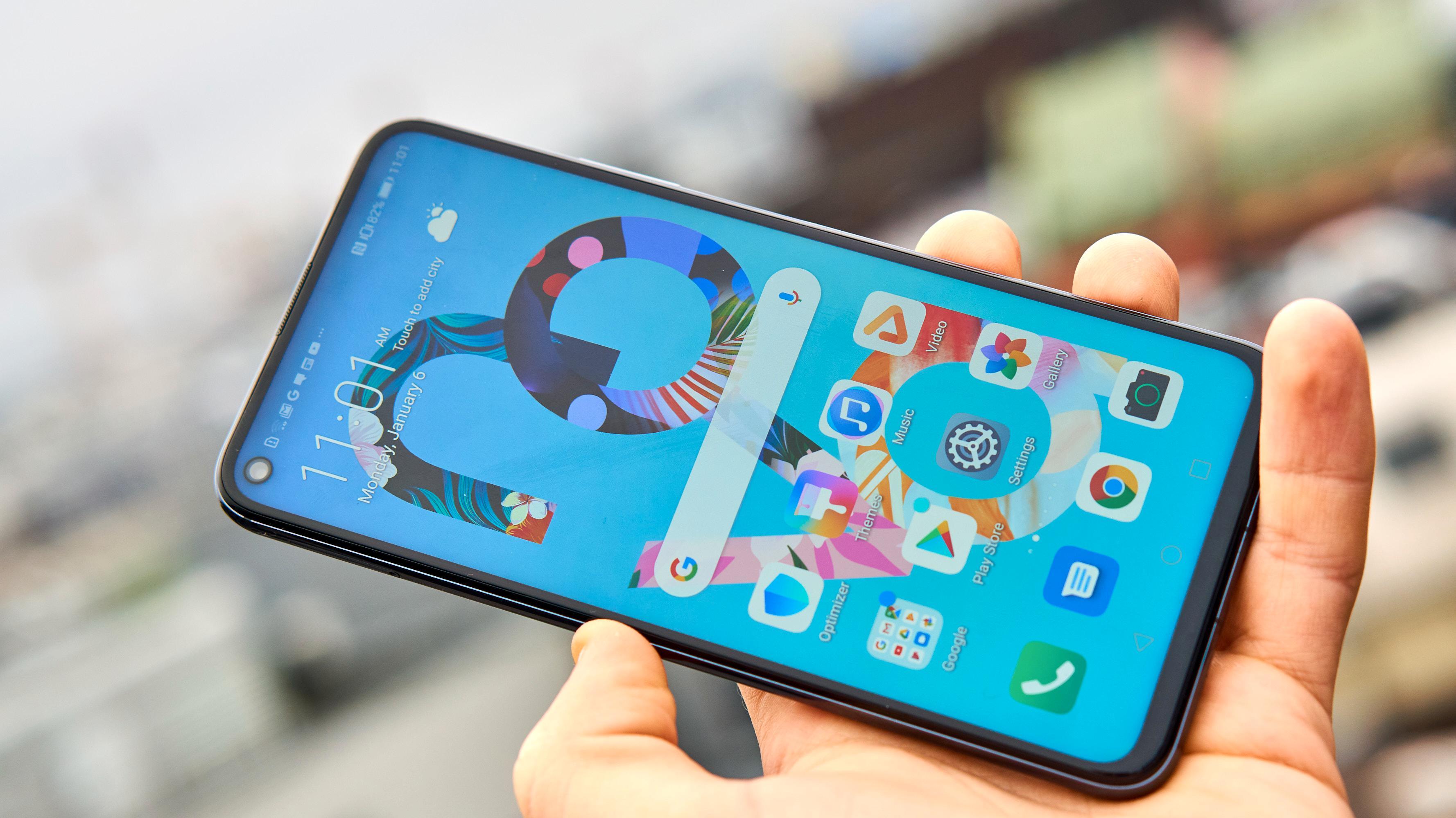 Huawei har sin egen vri på Android.