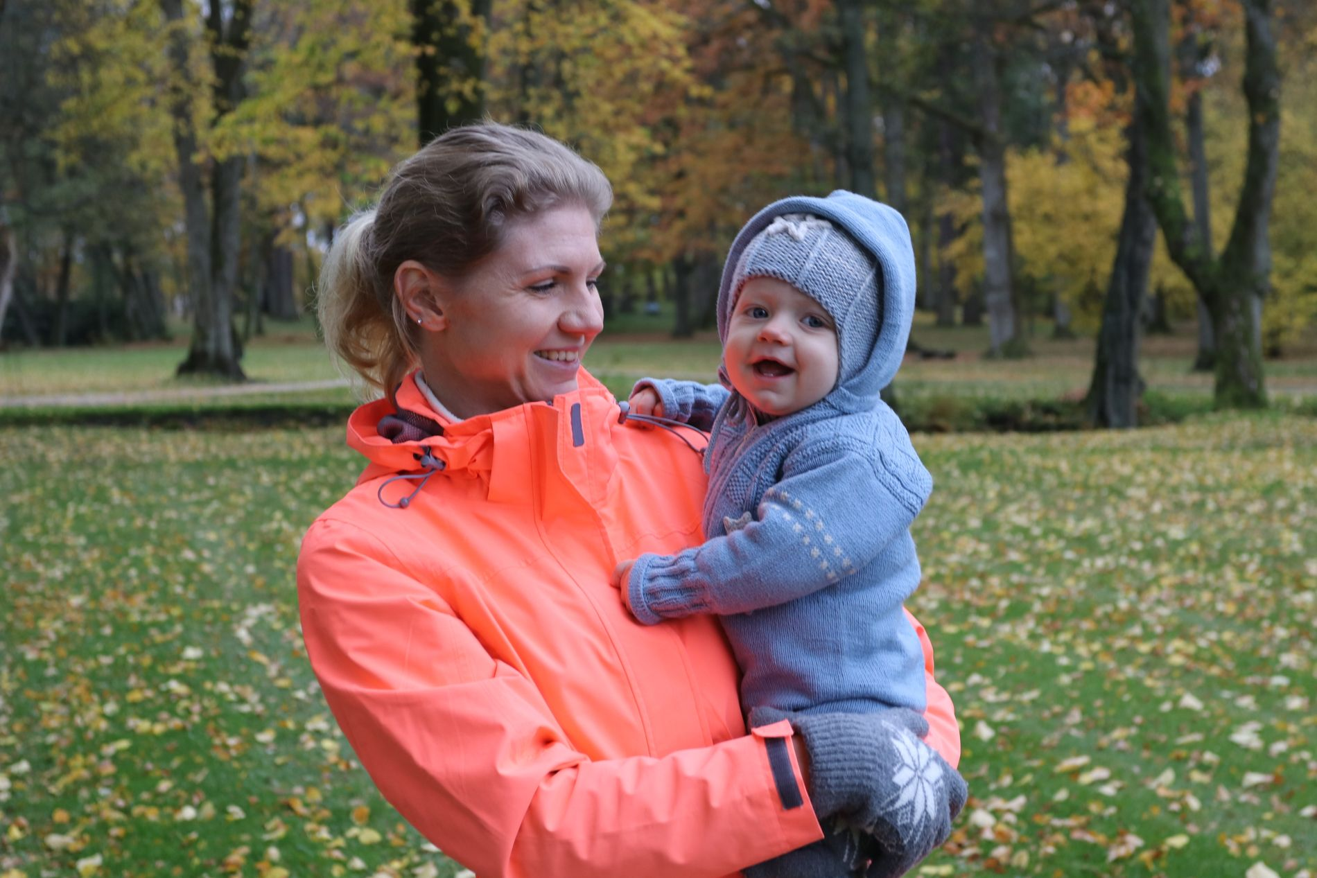 «Hvordan forsikrer man det kjæreste man har på best mulig måte?» Det var dette spørsmålet Marlene stilte seg selv da hun skulle velge barneforsikring. På bildet er Mathias ni måneder.