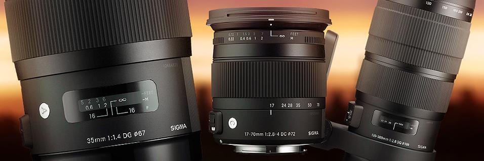 Tre nye objektiver fra Sigma