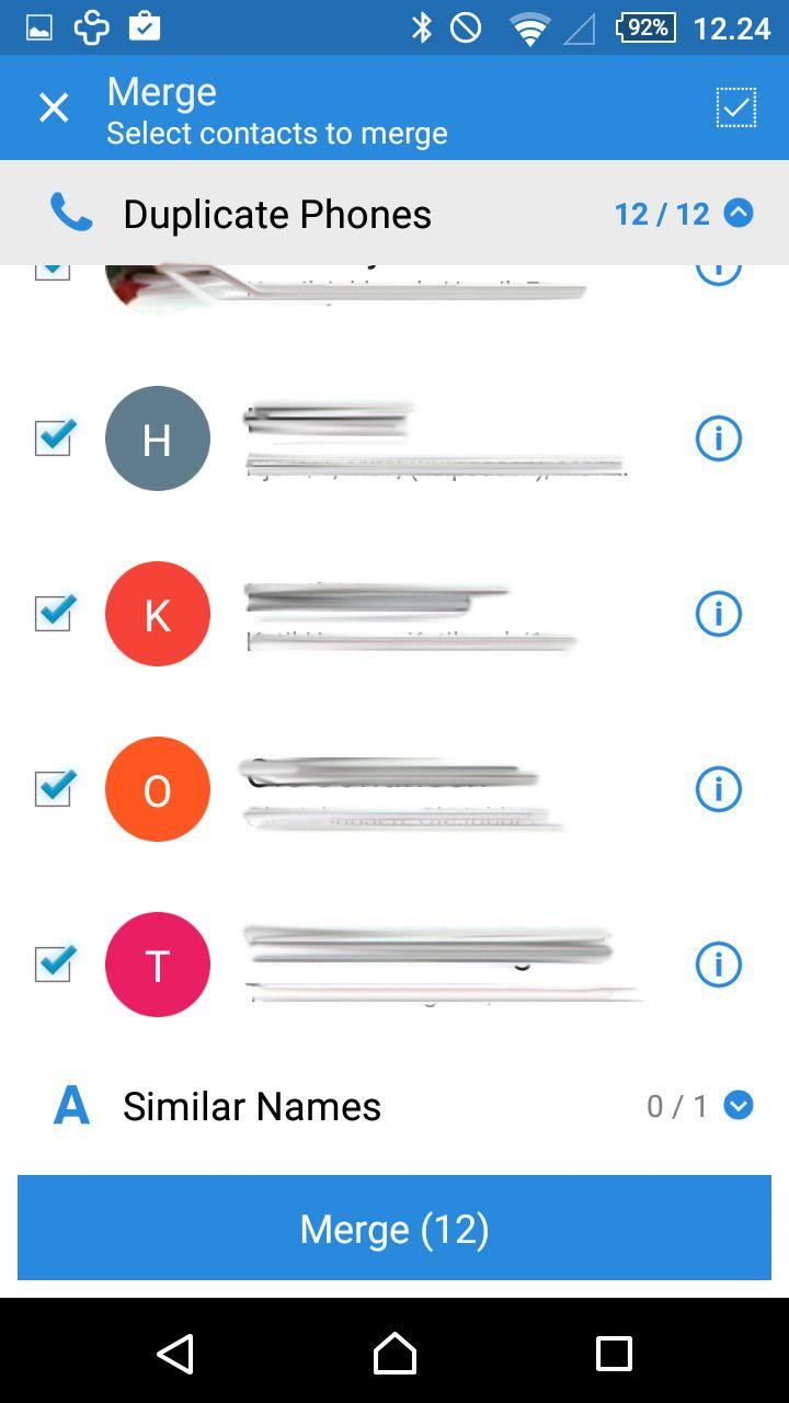 For oss fungerte Simpler Merge Duplicates bedre enn Merge+.