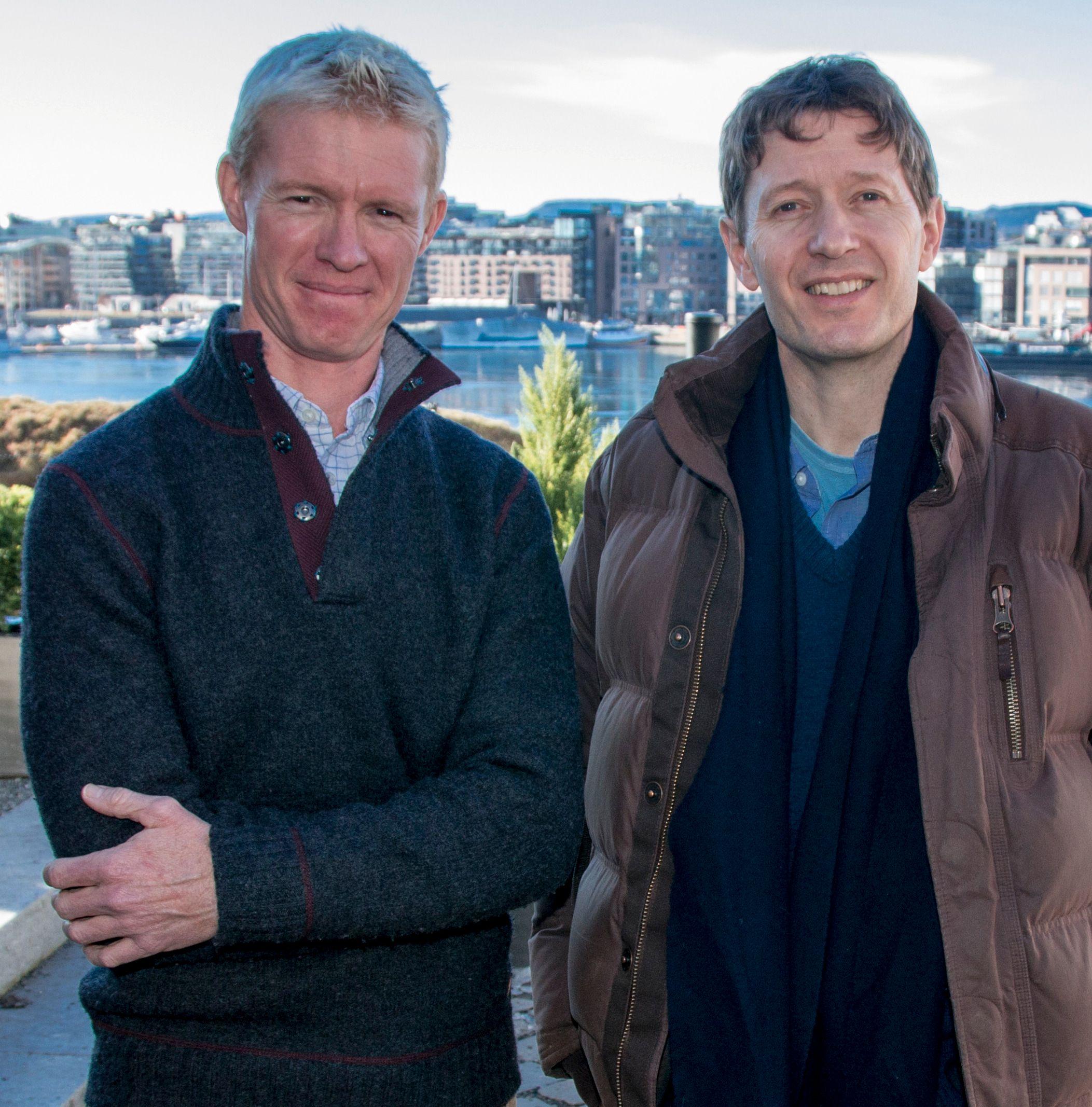 Mateo Willis og Rupert Barrington. Foto: Kristoffer Møllevik