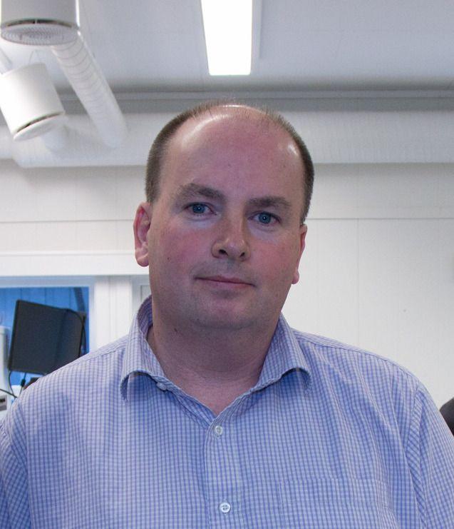 Tron Atle Løvig, daglig leder i Multicom.no