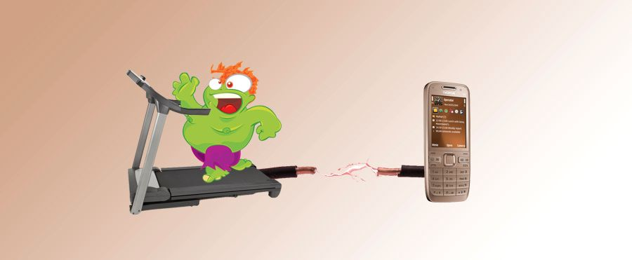 Nokia patenterer selvladende batteri