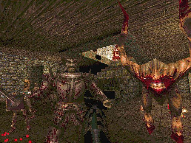 I Quake ble du angrepet av grufulle 3D-monstre, i en dunkel 3D-verden – til begeistring for mange.