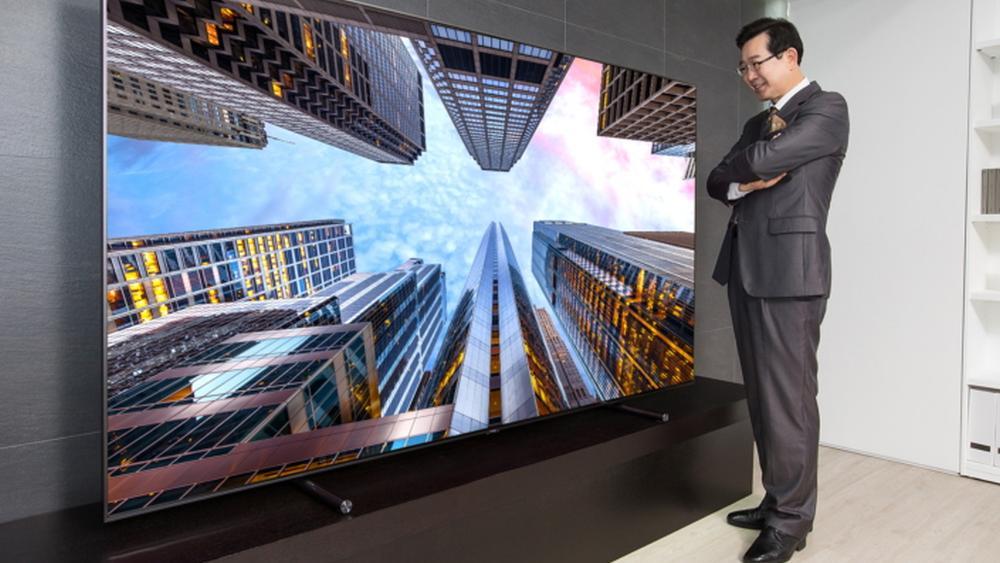 Samsungs gigantiske QLED-TV vil koste 180 000 kroner